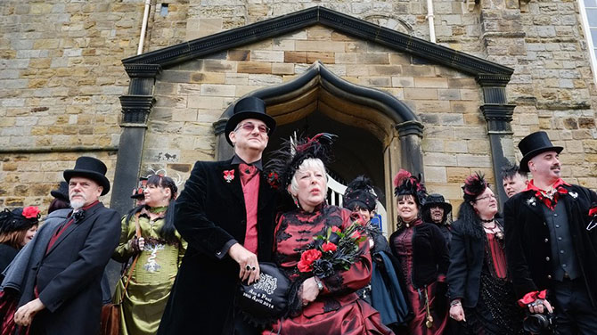 «Whitby Gothic Weekend» в Великобритании