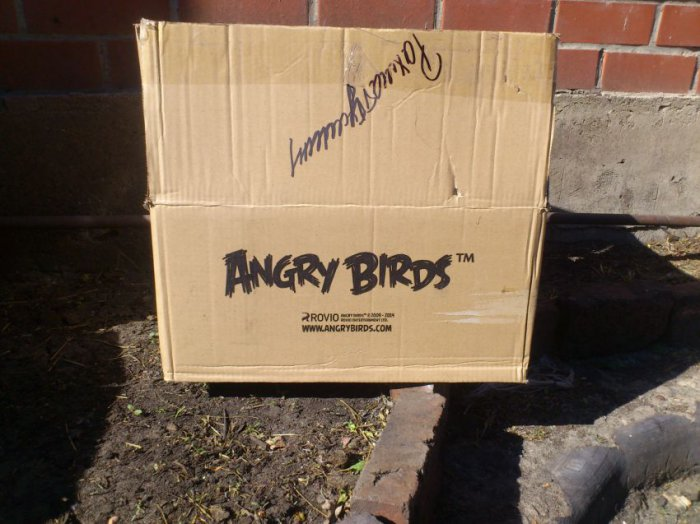 Angry Birds начало