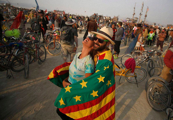 Фестиваль Burning Man 2014