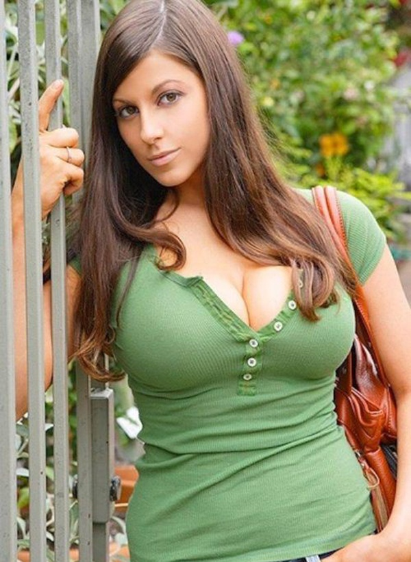 Big bust and mature