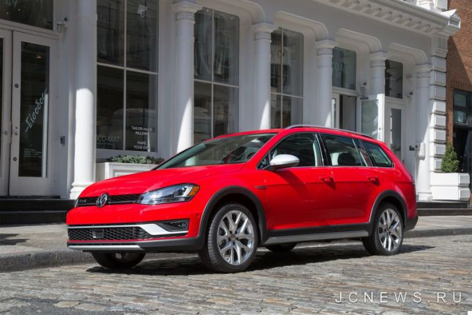 Volkswagen покажет американский Golf Alltrack