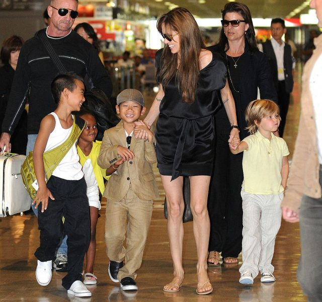 Angelina jolie all kids names
