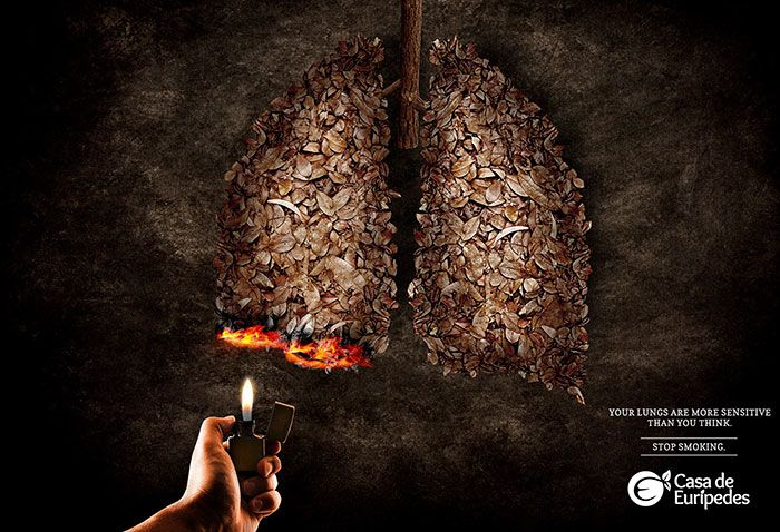 anti smoking ad The truth anti-smoking initiative released a new ad campaign that warns of a future with no cat videos if we don't stop smoking.
