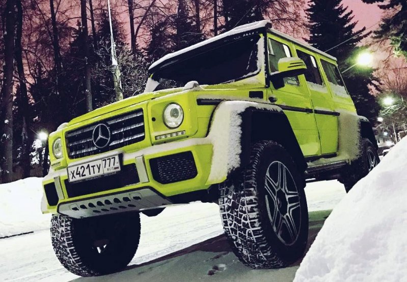 Mercedes-Benz G500 4×4 Squared