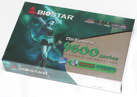 Обзор видеокарты Biostar V903GT52 512MB Geforce 9600GT