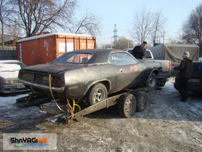 Реставрация Plymouth Barracuda