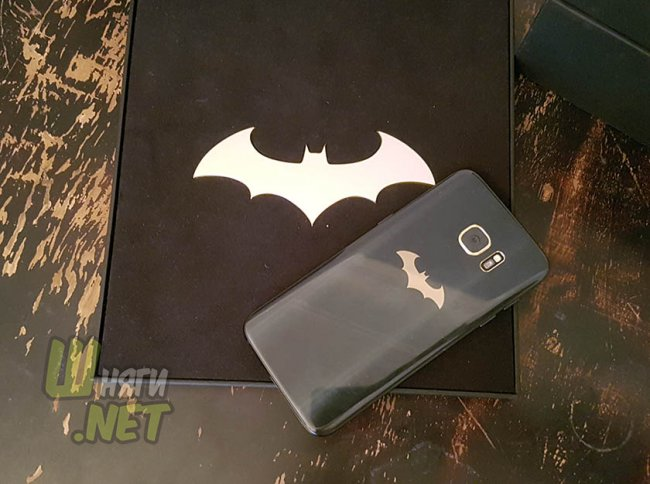 Samsung Galaxy S7 edge Injustice Edition своими глазами