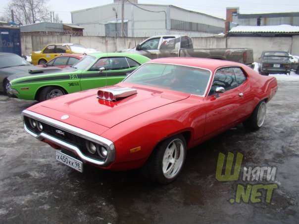 Реставрация автомобиля Plymouth Roadrunner