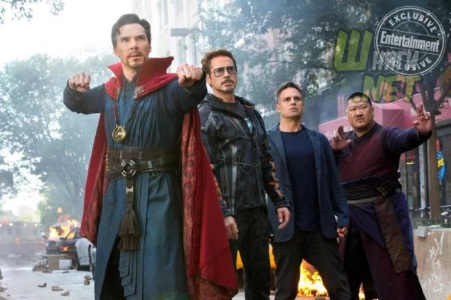 Кадры третьих «Мстителей» от Entertainment Weekly. rdj, marvel, avengers, infinity war, ant man, spider man, iron man, thor, hulk, кино