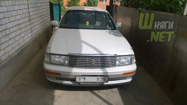 Реставрация Toyota crown 141