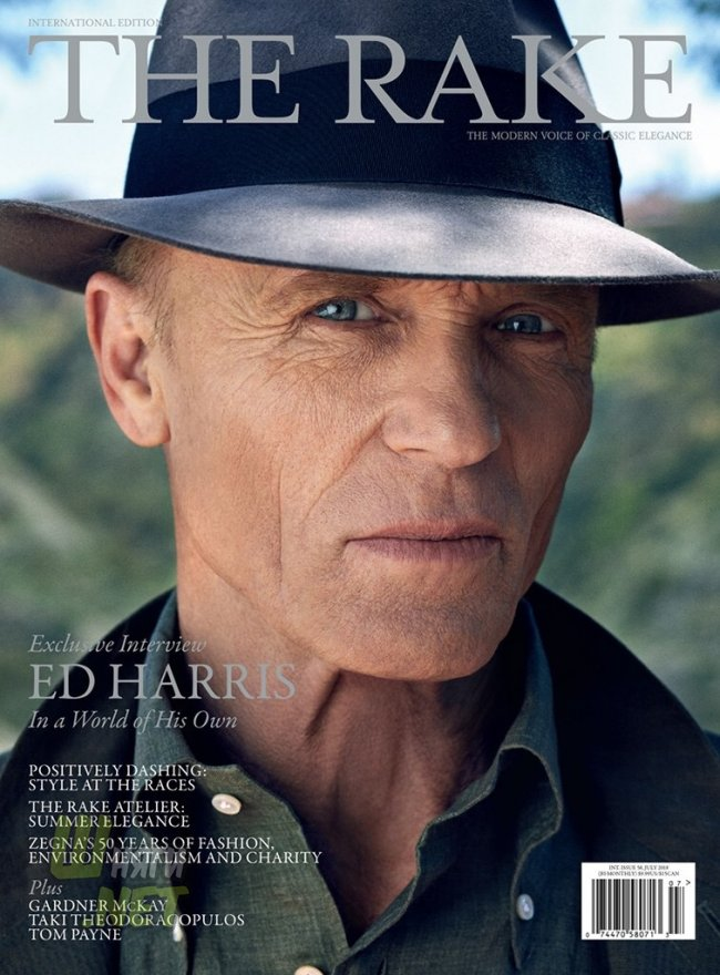 Эд Харрис для The Rake. ed harris, westworld, the last ful lmeasure, geostorm, kodachrome, mother