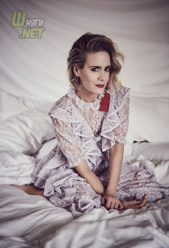 Красотка Сара Полсон sarah paulson, the post, oceans 8, glass, the goldfinch, american horror story