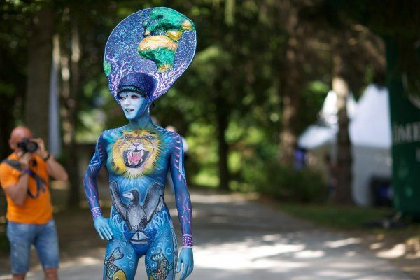 Фестиваль боди-арта World Bodypainting Festival 2013