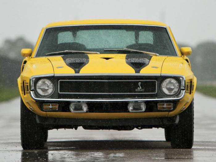 Ford Mustang Shelby GT350 1970 года