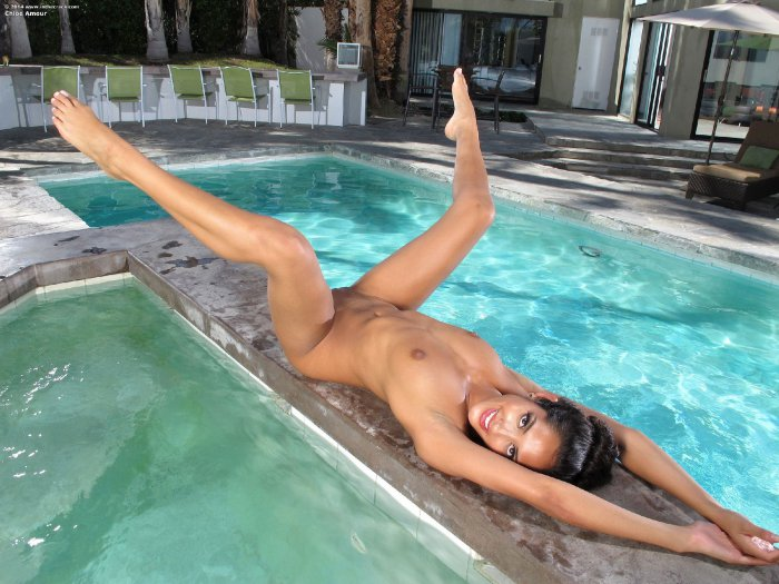 Chloe Amour Pool Sex Nude Gals 1