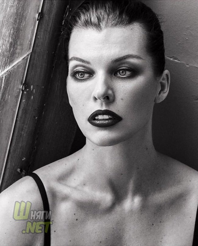 Дерзкая  Милла Йовович milla jovovich, hellboy, resident evil, future world, shock and awe, paradise hills